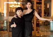 Trương Quỳnh Anh chở con đi xem thời trang