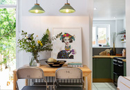 """Bàn ăn nhà bếp đẹp """"hút hồn"""" với những ý tưởng thiết kế độc đáo giúp """"nới rộng"""" thị giác cho những không gian sống nhỏ xinh"""