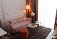 """Căn hộ 65m² dành trọn lời khen """"tâm đắc"""" của chủ nhà khi nhận công trình nhờ chọn gam hồng cùng phong cách tân cổ điển ở Sài Gòn"""