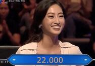 Hoa hậu mất tấm séc 30 triệu ở 'Ai là triệu phú' vì món sắn luộc