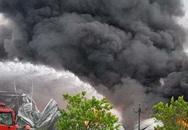 Cháy lớn tại khu Công nghiệp Yên Phong, Bắc Ninh