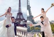 Phát hiện chi tiết trùng hợp không ngờ trong bức ảnh ngôn tình của vợ chồng Nguyễn Trọng Hưng và cặp đôi Huỳnh Hiểu Minh - Angelababy