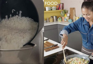 Choáng cách người Tây nấu cơm:  Gạo không vo mà được luộc lên, chắt nước và rửa lại