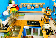 Căn bếp vỏn vẹn chỉ 5m² được ông bố Sài Gòn cải tạo tiện dụng cho việc nấu nướng hàng ngày có chi phí hơn 2 triệu đồng