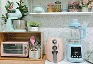 Căn bếp vừa gọn vừa xinh sau khi cải tạo với chi phí 2,6 triệu đồng của cô gái Hà Nội