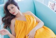 Đông Nhi chỉ tăng 7 kg khi mang thai