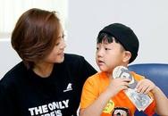 Thu Quỳnh: 'Con trai quý mến người yêu tôi'