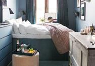 Mách bạn 10 mẹo giúp không gian phòng ngủ nhỏ rộng và thoáng hơn nhiều