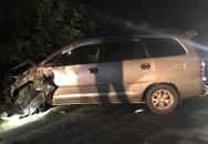 Innova đâm 4 xe máy, 9 người bị thương