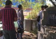 Cãi vã với vợ, chồng ra nghĩa trang treo cổ trên cây táo