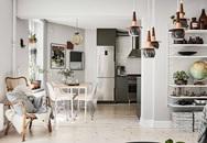 Học cách trang trí độc đáo trong căn hộ 66m² để đón Tết sắp đến