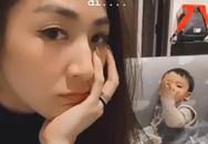 Á hậu Tú Anh khiến fan thích thú khi khoe khoảnh khắc con trai hôn gió mẹ vô cùng đáng yêu