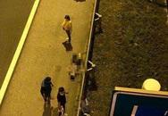 Nam thanh niên nhảy từ cầu vượt xuống đường cao tốc ở Hải Phòng tử vong