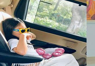 Con gái 7 tuổi lém lỉnh khiến Thủy Tiên - Công Vinh nhiều lần sững sờ