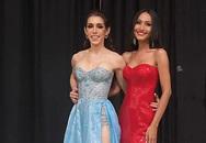 """""""Bạn gái"""" Trọng Hiếu - Hoài Sa đã ghi điểm lớn vì hành động đẹp với thí sinh Mỹ tại Hoa hậu Chuyển giới Quốc tế 2020"""