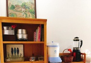 Phòng bếp chỉ rộng 6m² nhưng nhờ kinh nghiệm sắp xếp tối giản mẹ đảm ở Hà Nội vẫn khiến không gian ngăn nắp, gọn gàng