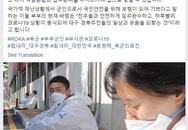 Khoảnh khắc chồng nhìn vợ với đôi mắt trìu mến khi cả hai là quân nhân đi làm nhiệm vụ chống dịch COVID-19 ở Hàn Quốc gây xúc động mạnh
