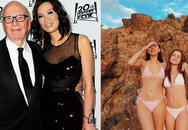 Nhan sắc 2 con gái nóng bỏng của nữ tỷ phú Trung Quốc và ông trùm truyền thông Mỹ