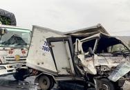 4 xe tải tai nạn liên hoàn, một tài xế tử vong