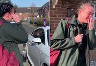 Nữ nhân viên y tế ở Anh xúc động đến rơi nước mắt khi được cả khu phố vỗ tay động viên trên đường đi làm