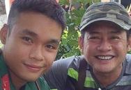 Tấn Beo tiễn con trai tham gia tuyến đầu chống dịch