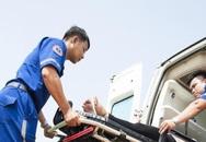 Xe tải tông 3 người đi bộ, một người tử vong