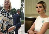Từng bị chê ăn mặc phản cảm và thân hình tăng cân quá đà, Ivanka Trump mới đây gây bất ngờ với diện mạo lột xác