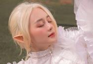 Bất ngờ với hình ảnh tóc trắng, tai dài đầy ma mị của Thiều Bảo Trang