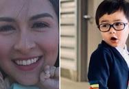 Vợ Đan Trường khoe ảnh mỹ nhân Philippines Marian Rivera bế con trai