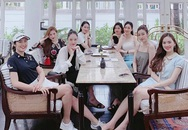 Để ý mới thấy hội Hoa hậu - Á hậu Hà Thành tụ hội nhưng chẳng lần nào có mặt Huyền My, phải chăng bị cô lập?