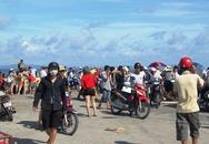 127 du khách mắc kẹt trên đảo Cô Tô do tàu bỏ chuyến