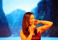 Ngọc Anh gợi cảm, cháy bỏng trong đêm nhạc tại quê hương Quảng Ninh