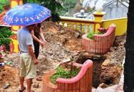 Quảng Ninh: Sụt lún tại nghĩa trang Đèo Sen