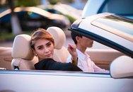 Siêu mẫu Hoàng Yến ngồi siêu xe với đại gia đất Cảng