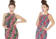Đẹp rực rỡ với váy hoa