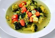 Ấm bụng mà thanh nhẹ với món súp rau củ