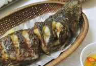 Cơm chiều với hai món cá nướng