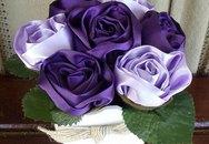 Cách làm hoa hồng vải đơn giản mà đẹp