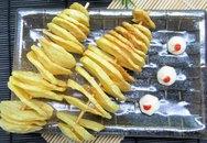 Cách làm khoai tây lốc xoáy giòn ngon đúng điệu