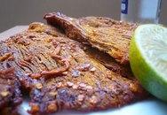 Cách làm thịt bò khô ngon, an toàn