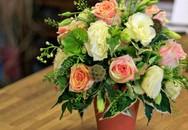 Tự cắm hoa hồng đẹp và sang trọng