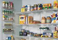 Mẹo sắp xếp tủ lưu trữ thực phẩm ngăn nắp đón Tết