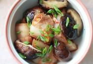Thịt kho nấm đậm đà thơm phức