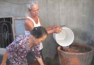 Người dân uống nước giếng bị nhiễm xăng dầu
