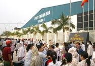 Công nhân công ty Ivory Thanh Hóa đình công đòi quyền lợi
