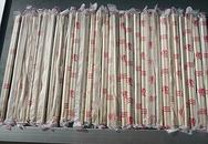 Kiểm nghiệm tìm chất độc trong đũa Trung Quốc
