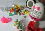 Nhập viện vì ăn kẹo trong đồ chơi Trung Quốc