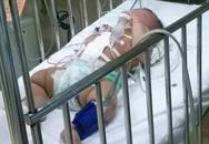 Kinh hãi bé gái 4 tháng tuổi bị đâm vào bụng