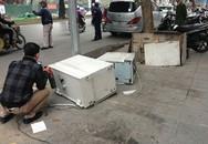 Cây ATM bị phá tung giữa Hà Nội, tiền bị rút sạch