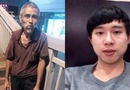 Phẫn nộ nam sinh đánh đập dã man cụ già ăn xin 73 tuổi